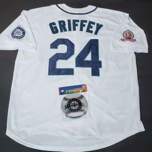 Other - Ken Griffey Jr Jersey Seattle Mariners Throwback